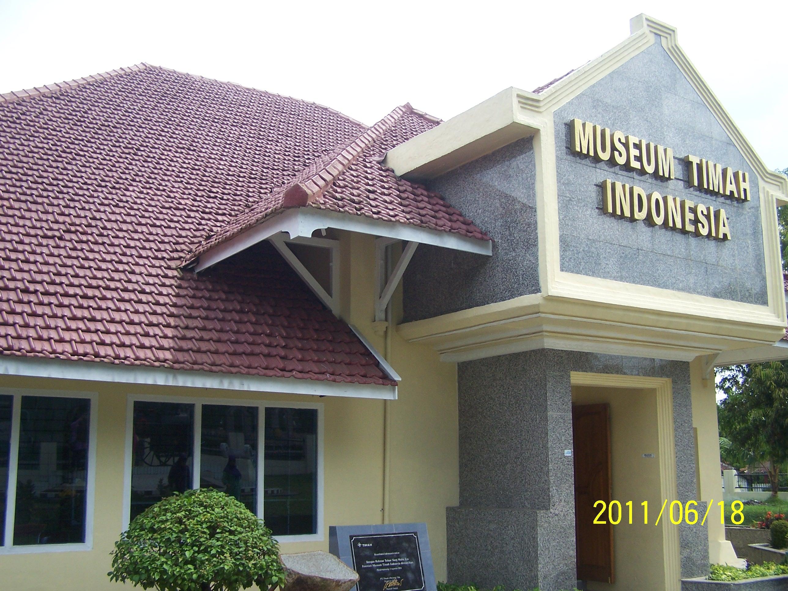 Sejarah Timah Www Bangka Belitung News Museum Indonesia Kota Pangkalpinang
