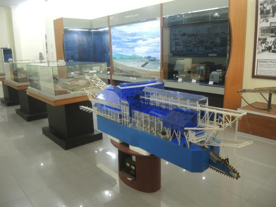 Timah Museum Indonesia Pangkalpinang Bangka Belitung Lintang Located Middle Road