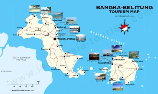 Wisata Sejarah Museum Timah Satu Satunya Dunia Bangka Belitung Map