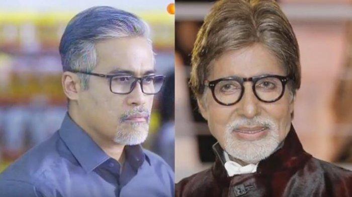 Perankan Bapak Beruban Berjenggot Adjie Pangestu Disebut Mirip Amitabh Bachchan