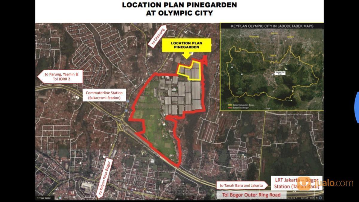 Pinne Garden Olympic City Kota Bogor Hunian Strategis Jantung Kab