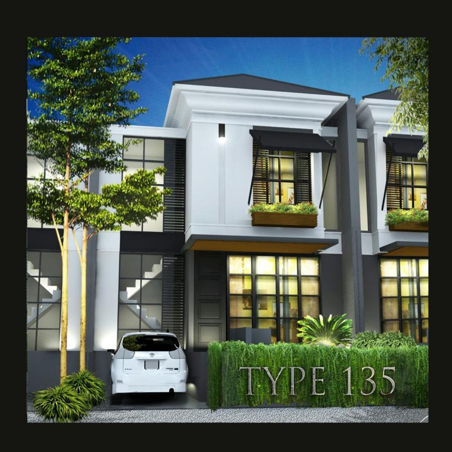 Rumah Dijual Cluster Mewah Bonus Kolam Renang 10 Menit Pintu