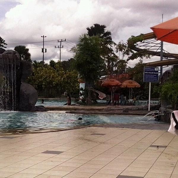 Water Park Kuantan Regency Pekanbaru Riau Kolam Renang Pangestu Kota