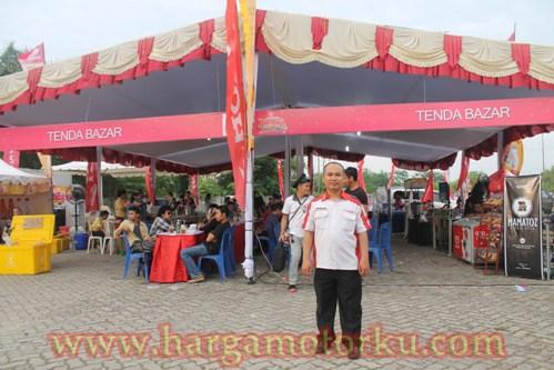 Gambar Stand Sambutan Pembukaan Bazar Lapangan Purna Mtq Pekanbaru Bandar