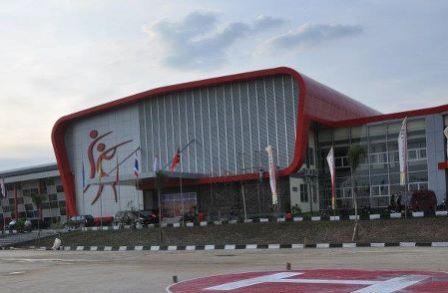 Gedung Purna Mtq Diruntuhkan Venues Takraw Pon Xviii Putra Pekanbaru