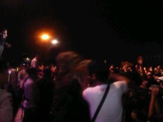 Goriau Situasi Mencekam Selimuti Konser Noah Pekanbaru Lapangan Purna Mtq