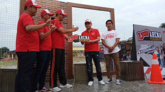Kadis Pariwisata Riau Apresiasi Loop Arena Disiapkan Telkomsel Groundbreaking Lapangan