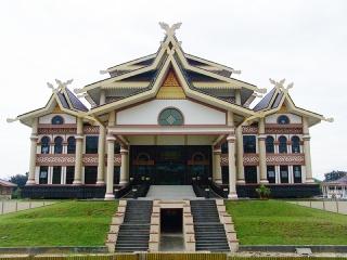 Pembangunan Venue Takrau Mtq Dipacu Tribun Pekanbaru Lapangan Purna Kota