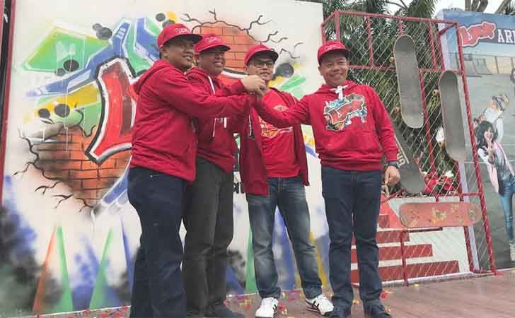 Serentak 11 Kota Telkomsel Resmikan Loop Arena Mtq Pekanbaru Community