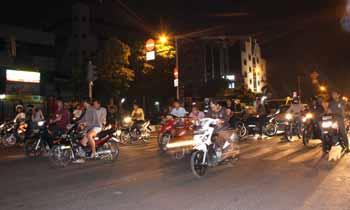 Tangkap Pembalap Liar Polisi Patah Kaki Pekanbaru News Berita Aksi