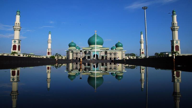 Ajib Masjid Raya Nur Pekanbaru Datangkan Imam Palestina Https Img