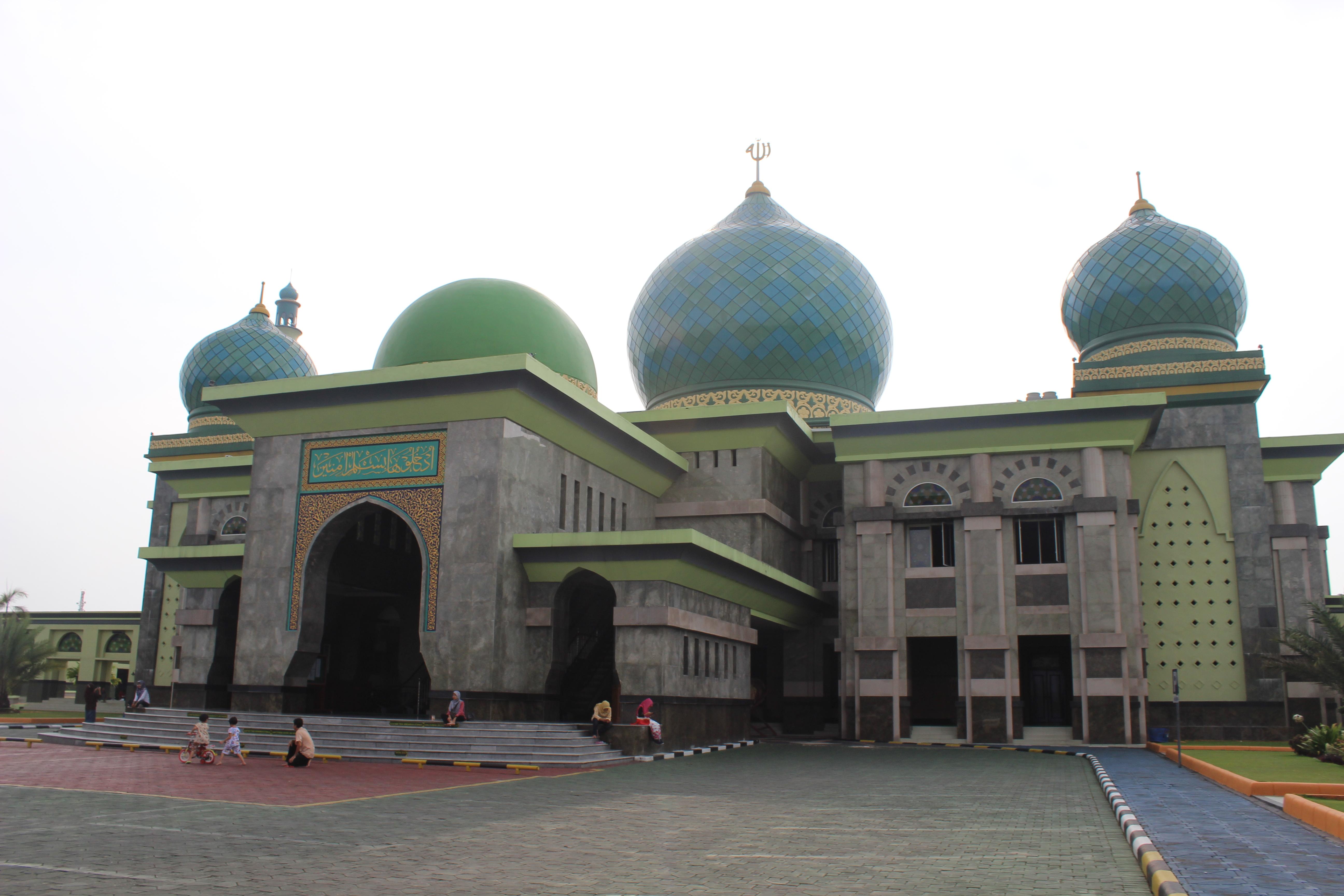 File Masjid Agung Nur 3 Jpg Wikimedia Commons Pekanbaru Kota