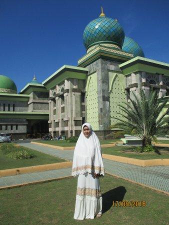 Keagungan Alloh Keindahan Rumah Masjid Agung Nur Mesjid Raya Pekanbaru