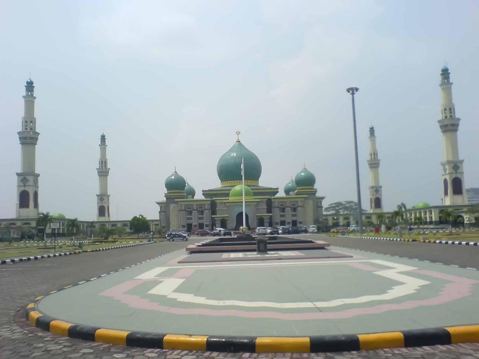 Masjid Agung Annur Kota Pekanbaru Riau Blognya Adhitya P Nur
