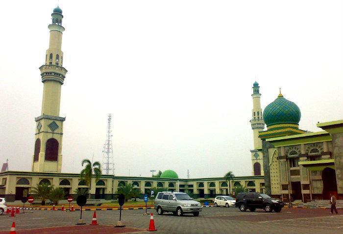 Masjid Agung Annur Riau Pekanbaru Nur Kota