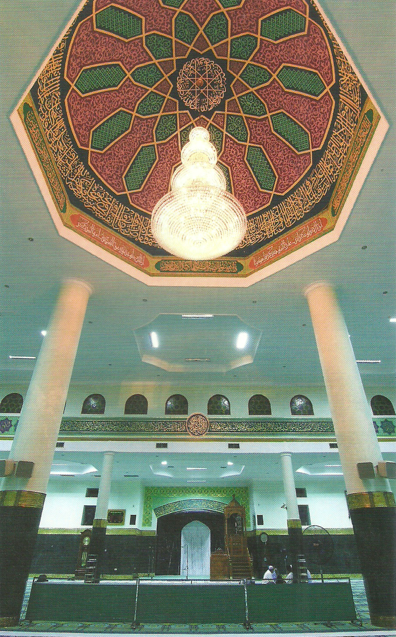 Masjid Agung Nur Dunia Jakarta Islamic Centre Annur Pekanbaru Kota