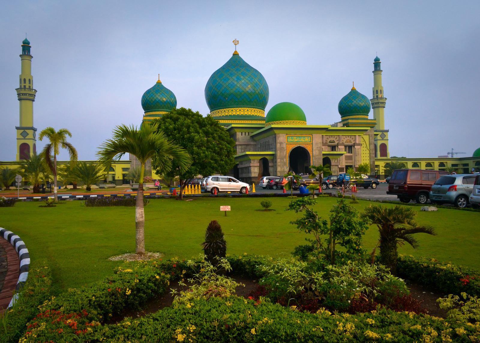 Masjid Agung Nur Dunia Jakarta Islamic Centre Annur Riau Keindahan