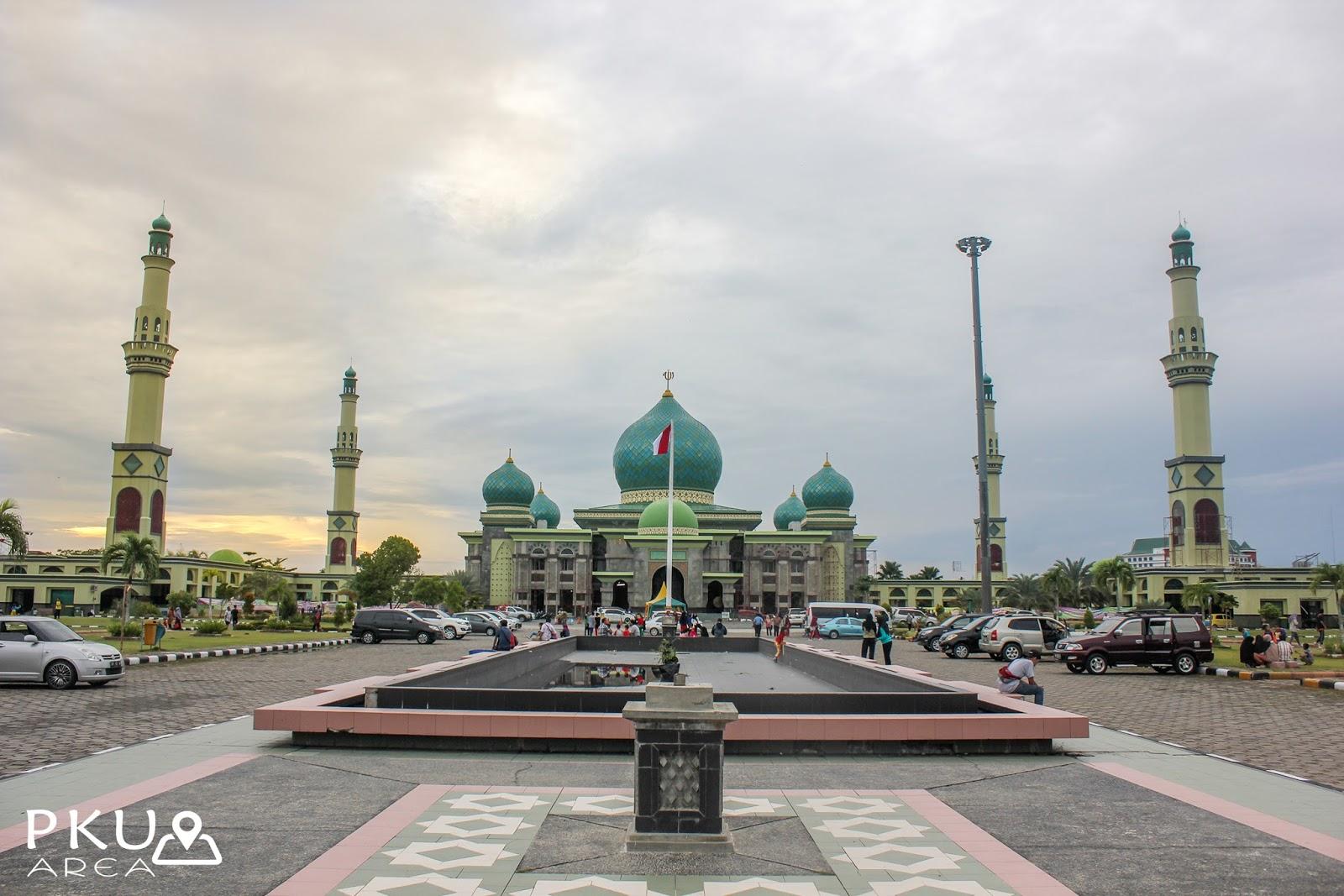 Masjid Agung Nur Pekanbaru Area Kota