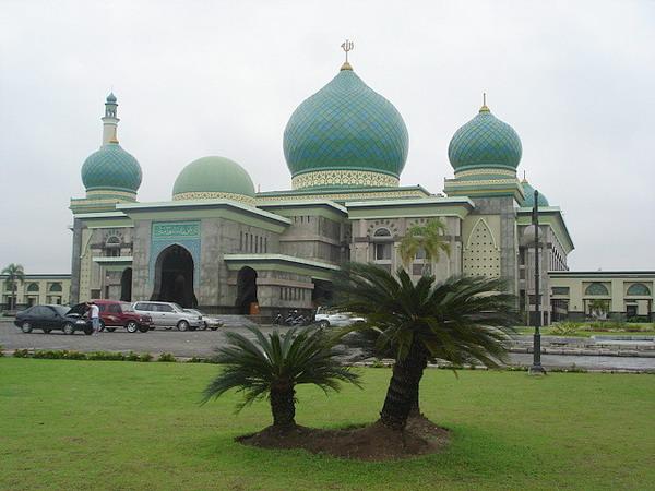 Masjid Agung Nur Pekanbaru Kilasan Mesjid Kota