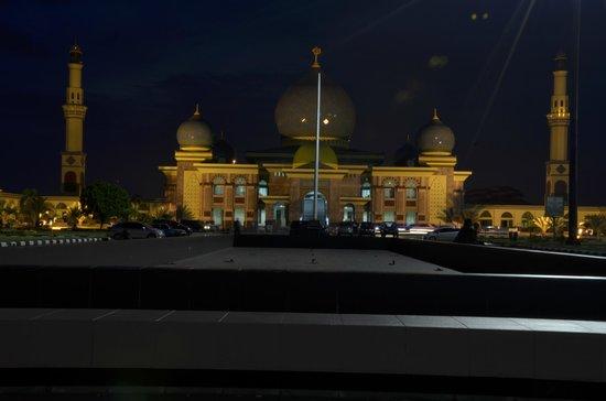 Masjid Annur Pekanbaru Picture Nur Grand Mosque Agung Kota