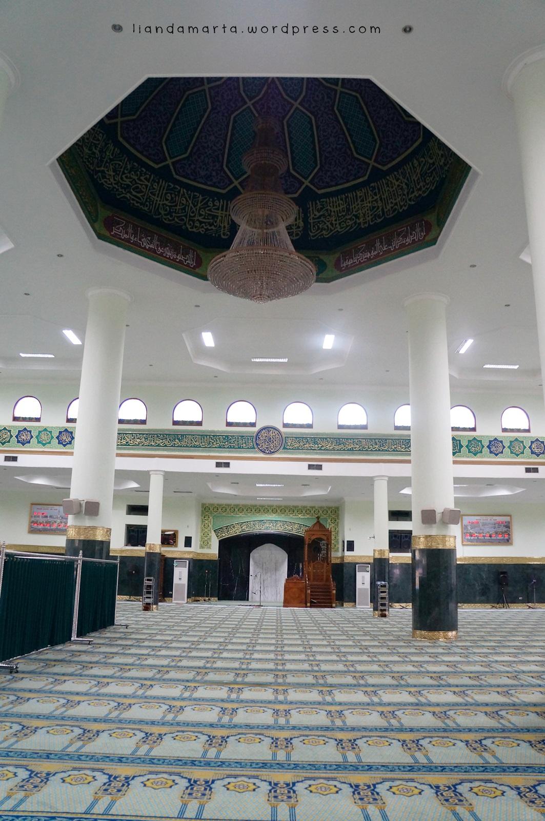 Masjid Berdesain Indah Pekanbaru Liandamarta Satu Hal Menurut Perlu Perbaikan