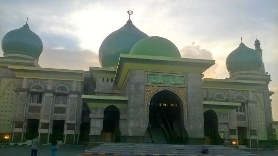 Masjid Raya Nur Foto Mesjid Pekanbaru Tripadvisor Agung Kota