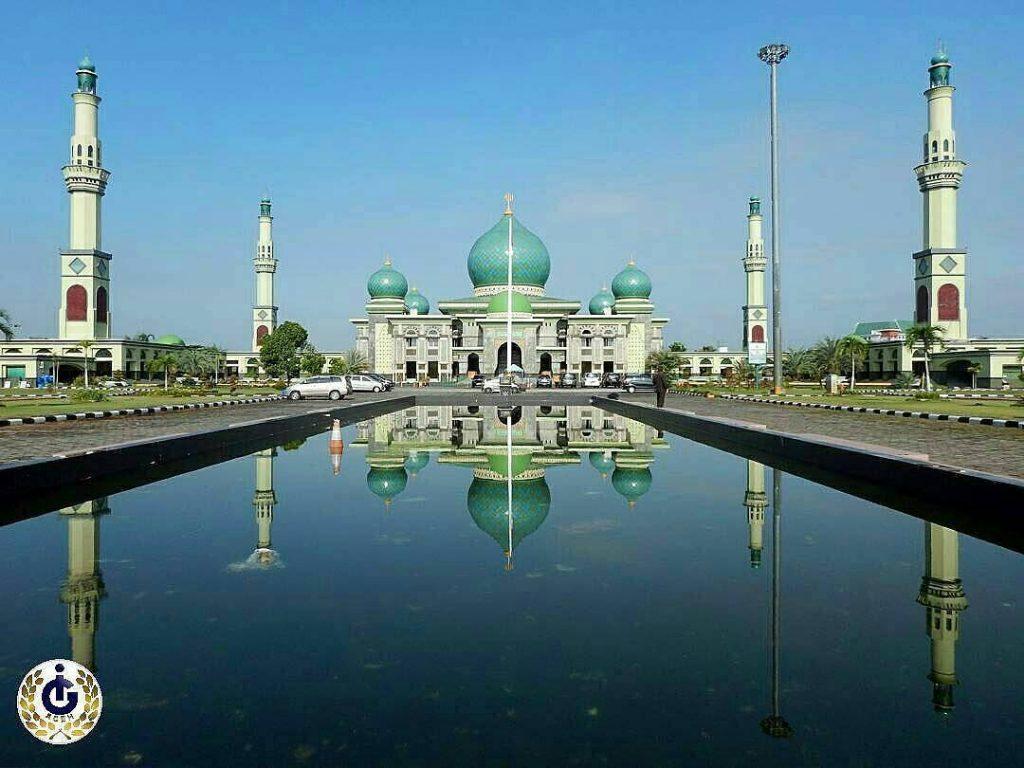 Menakjubkan Masjid Indonesia Mirip Taj Mahal Agung Annur Instagram Indah