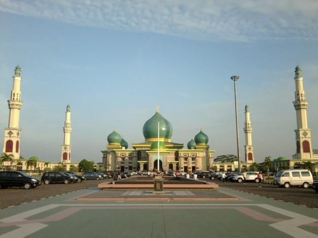 Mengenal Sejarah Masjid Agung Nur Hingga Disebut Taj Mahal Pekanbaru