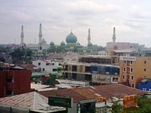 Nur Great Mosque Pekanbaru Wikipedia Distance Masjid Agung Kota