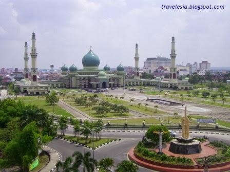 Pesona Masjid Agung Annur Pekanbaru Media Catatan Mesjid Nur Kota