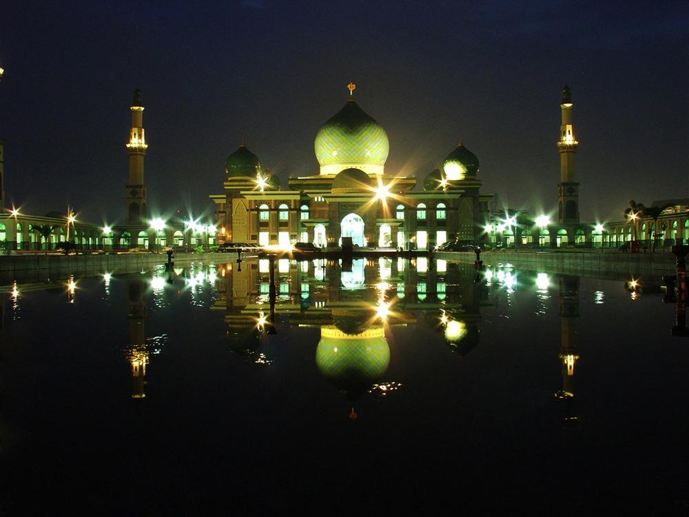 Rindu Masjid Agung Nur Riau Pekanbaru Kota