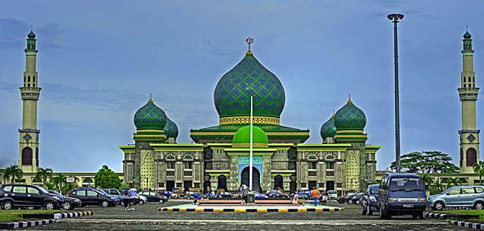 Ternyata Masjid Nur Pekanbaru Masuk 6 Megah Indonesia Agung Kota