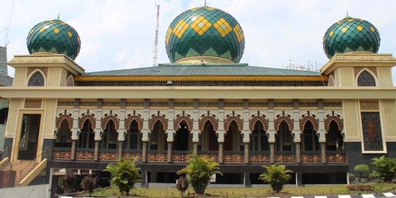 Bangsawan Jawa Motor Pembangunan Masjid Ar Rahman Jalan Jenderal Sudirman