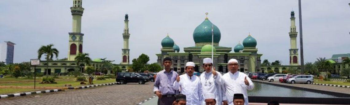 Dhuha Jumatan Masjid Agung Nur Pekanbaru Nuur Raya Kota