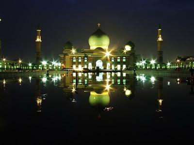 Foto Masjid Raya Pekanbaru Tempat Wisata Riau Lainnya Kota