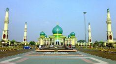 Masjid Agung Nur Pekanbaru Riau Indonesia Mosque Tips Travelling Nyaman
