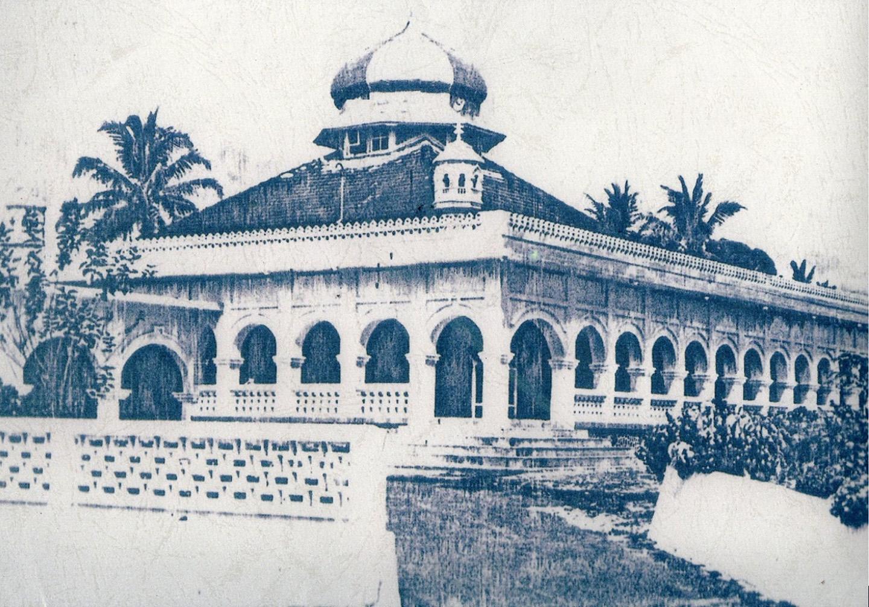 Masjid Raya Pekanbaru Bangunan Menjadi Struktur Cagar Budaya Kota