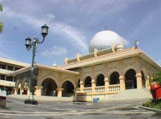 Masjid Raya Pekanbaru Warisan Budaya Dunia Iptek Foto Sebelum Rombak
