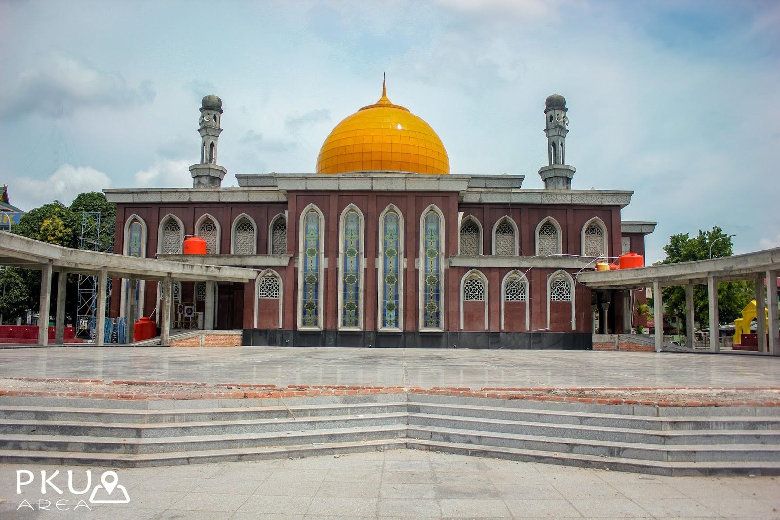 Masjid Raya Senapelan Pekanbaru Riau Area Dibangun Sultan Muhammad Ali