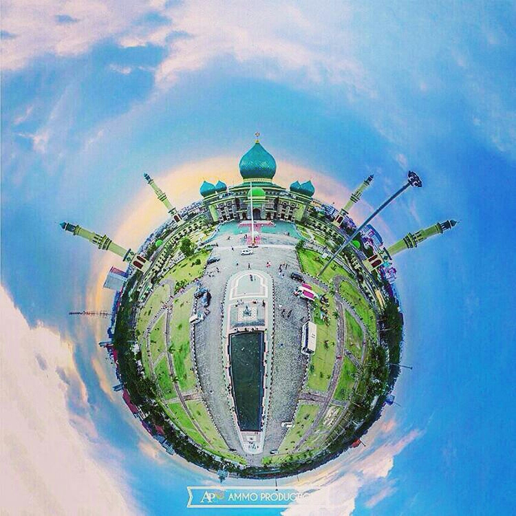 Mesjid Agung Nur Kota Pekanbaru Riau Magazine Regrann Pilotdroneriau Anwi