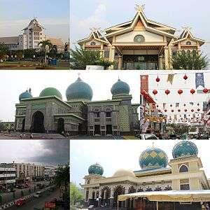 Pekanbaru Masjid Raya Kota