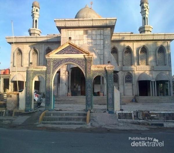 Riau Punya Masjid Candi Keren Raya Pekanbaru Tertua Dibangun 1762