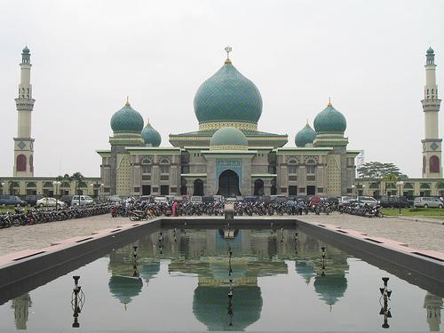 Rindu Masjid Agung Nur Riau Pekanbaru Raya Kota
