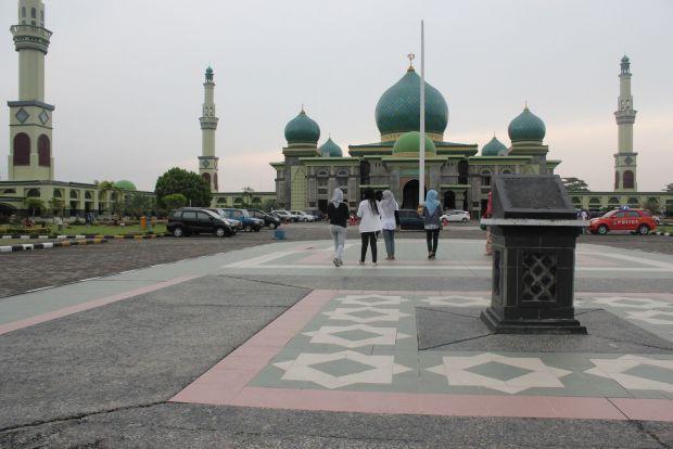 Sejarah Berdirinya Mesjid Agung Nur Pekanbaru Megah Masjid Raya Kota