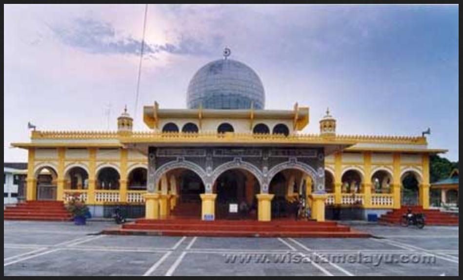 Sejarah Kota Pekanbaru Riau Magazine Masjid Raya