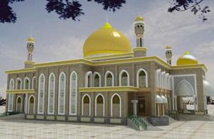 Wisata Religi Masjid Raya Senapelan Pekanbaru Riau Berbagi Tertua Kota