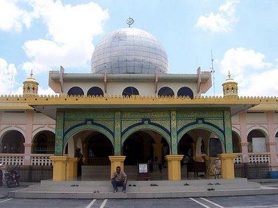 Wisata Riau Mesjid Raya Pekanbaru Masjid Kota