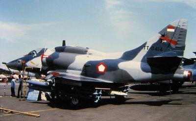 Garuda Militer 2012 02 19 4e Skyhawk Tni Angkatan Udara