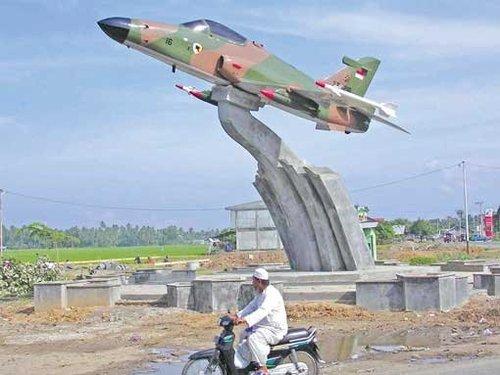 Jogja Icon Jogjaicon Fans Monumen Dirgantara Maimun Saleh Pesawat Tempur