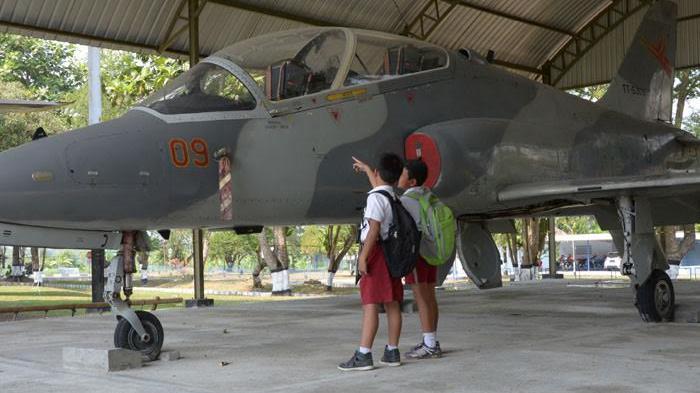 Pesawat Tempur Jadi Koleksi Terbaru Museum Dirgantara Yogyakarta Monumen 4e